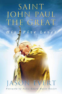 Discover the five great loves of St. John Paul II through remarkable unpublished stories on him from bishops, priests, students, Swiss Guards, and others.