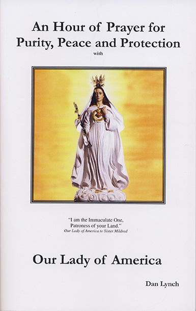 Prayers, readings, and directions for a holy hour devoted to Our Lady of America
