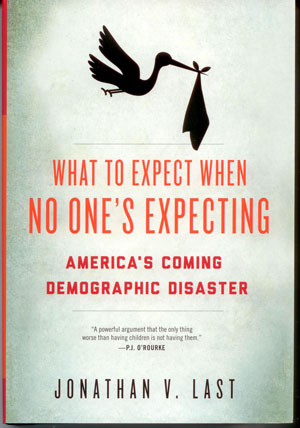 With candor, excellent research, and a sense of humor, Jonathan Last dispels the overpopulation myth with the truth: nations across the globe are facing a population collapse.  Last covers many elements contributing to declining fertility rates,: government policies, secularism, cultural shifts, and much more. Learn what is happening to countries whose birthrates have collapsed and what can be done to prevent a population implosion.