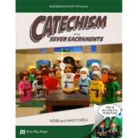 Catechism of the Seven Sacraments uses the classic brick toys as a storytelling and educational tool. Join hosts Fulton and Cynthia on a biblical adventure as they journey from creation to salvation and discover the importance of God's sanctifying grace. Set in a vivid comic-book format with stunning photographs, this lego-like book makes profound theological concepts accessible to both the Catholic and the curious, the child and the adult.