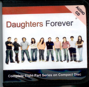 "Eight talks on CD supporting the "" Daughters Forever"" sexuality education program. For daughters; also available on DVD."